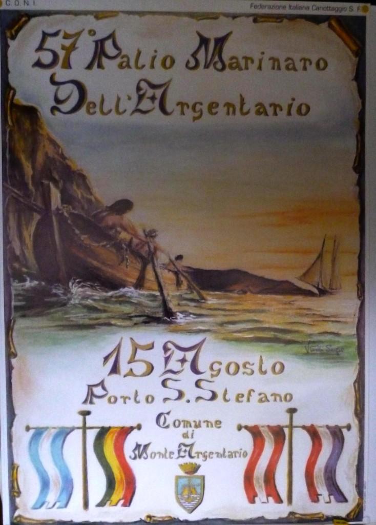 Manifesto 57° Palio Marinaro<br>SERGIO VITELLI