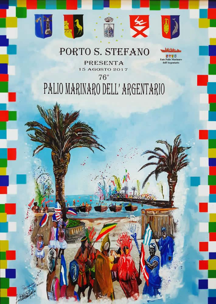 Manifesto 76° Palio Marinaro<br>CARLO ALBERTO PERILLO