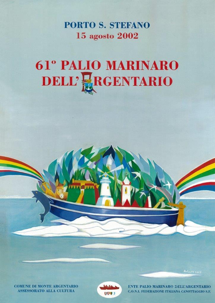 Manifesto 61° palio Marinaro<br>ARTURO STRONCHI